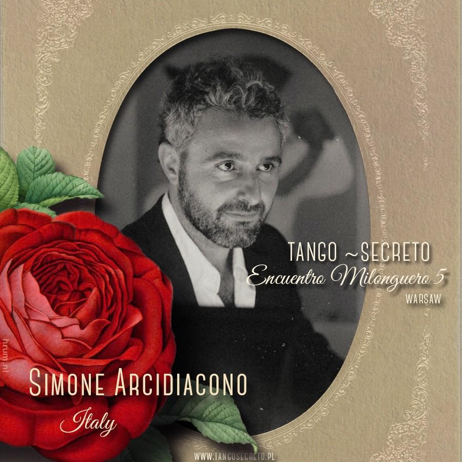 Tango Secreto DJ Simone Arcidiacono